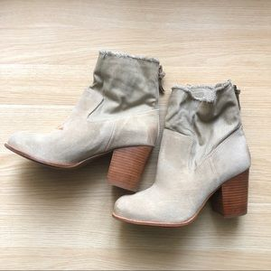 Anthropologie Leon Ankle Boot